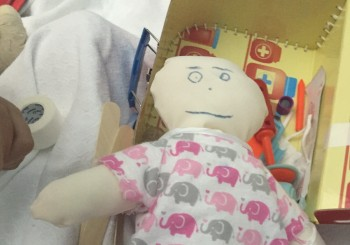 Sewing Group: Dolls, Pillows and Surgical Bags